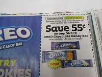 $.55/1 Oreo Chocolate Candy Bar 4/27/2019