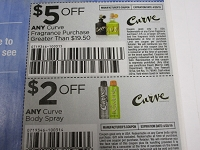 $5/1 Curve Fragrance Purchase of $19.50 + $2/1 Curve Body Spray 4/20/2019