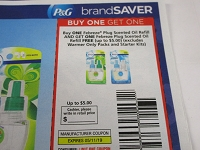 Buy 1 Get 1 FREE Febreze Plug Scented Oil Refill 5/11/2019