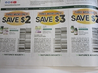 $2/1 Nature's Bounty Vitamin or Supplement + $3/1 Nature's Bounty Sleep3 + $2/1 Natures Bounty Cq Q10 Fish Oil 1/26/2020