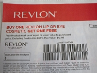 Buy 1 Revlon Lip or Eye Cosmetic Get 1 FREE 2/1/2020