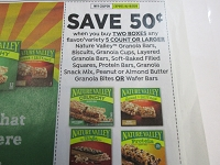 $.50/1 Nature Valley Granola Bars, Biscuits, Cups 5/16/2020