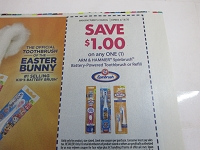 $1/1 Arm + Hammer Spin Brush Battery Powered Toothbrush or Refill 4/18/2020