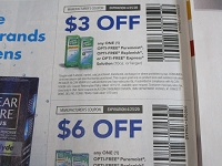 15 Coupons $3/1 Opti Free Puremoist or Replenish 10oz Solution + $6/1 Opti Free Twin Pack 4/25/2020
