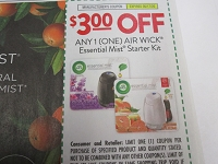 $3/1 Air Wick Essential Mist Starter Kit 5/17/2020