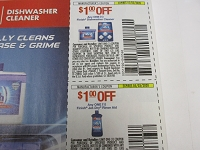 $1/1 Finish Dishwasher Cleanser + $1/1 Finish Jet Dry Rinse Aid 5/3/2020
