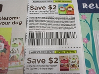 $2/1 Rachael Ray Nutrish SuperMedleys + $2/1 Nutrish Dry Dog Food 3lbs 6/20/2020