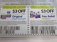 $3/1 Blue Emu Original + $3/1 Blue Emu Pain Relief Products 8/30/2020