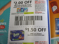 $2/1 Pampers Easy Ups Training Underwear or Splashers + $1.50/1 Luvs Diapers 7/18/2020