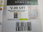 $2/1 Burts Bees Adult Toothpaste 7/18/2020