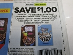 $1/2 General Mills Cereal Lucky Charms Cinnamon Toast Crunch 8/29/2020