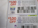 $1/1 Oxiclean Powder Stain Remover + $1/1 Oxiclean Odor Blasters Laundry Additive 9/5/2020