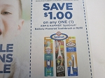 $1/1 Arm & Hammer Spinbrush Battery Powered Toothbrush or Refill 8/29/2020