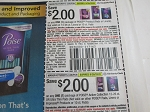 $2/1 Poise Product + $2/1 Poise Active Collection 12-26ct or Ultra Thin Pads 9/26/2020