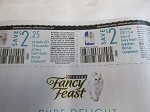 $2.25/12 Fancy Feast Broths + $2/12 Fancy Feast Appetizers Wet Cat Food Complements 11/13/2020