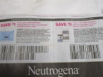$1/1 Neutrogena Makeup Remover + $3/1 Neutrogena Rapid Wrikle Repair 10/11/2020