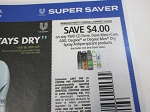 $4/2 Dove, Dove+Care, Axe, Degree Dry Spray Antiperspirant 10/3/2020