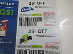 $.25/1 Charmin Toilet Paper 4ct + $.25/1 Bounty Paper Towels 10/10/2020