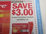 $3/1 Thermacare 10/11/2020 no 1ct
