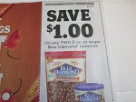 $1/2 Blue Diamond Almonds 11/21/2020 5oz