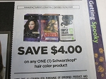 $4/1 Schwarzkopf Hair Color 10/18/2020