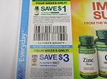 $1/1 Nature's Bounty Immune Support Vitamin or Supplement + $3/1 Ester C Tablet 80ct 11/1/2020