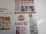 $2/1 Sundown Product + $2/1 Sundown Kids Vitamins 11/1/2020