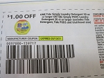 $1/1 Tide Simply Detergent 50oz or Simply Pods 20ct 3/13/2021