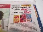 15 COUPONS $1.50/3 KELLOGG'S CEREALS 5/23/2021