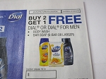 Buy 2 Get 1 FREE Dial or Dial for Men Body Wash or Bar Soap 6 Bar 7/29/2018