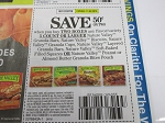 $.50/2 Nature Valley Granola Bars 11/3/2018