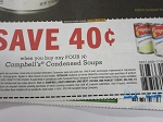$.40/4 Campbell's Condensed Soups 11/18/2018