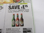 $1.15/1 Tabasco 5oz+ 11/11/2018
