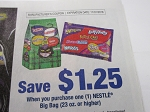 $1.25/1 Nestle Big Bag 23oz+ 11/1/2018