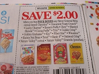 $2/4 General Mills Cereals Cheerios Cinnamon Toast Crunch Trix Lucky Charms 2/16/2019