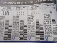 $2/1 Tresemme Between Washes  + $2/1 Dove Between Washes + $2/1 Nexxus Between Washes + $2/1 Suave Between Washes 2/9/2019
