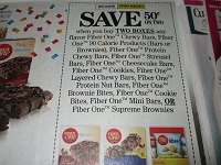 $.50/2 Fiber One Chewy Bars 4/6/2019