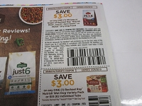 $3/1 Rachael Ray Nutrish Dish, Just 6, Zero Grain or Peak 3lbs bag + $3/1 Nutrish Wet Dog Food Variety Pack or 6 Tubs 4/24/2019