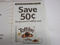 $.50/1 Toffifay Pack 4/30/2019
