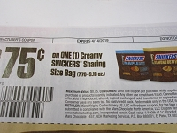 $.75/1 Creamy Snickers Sharing Size Bag DND 4/14/2019