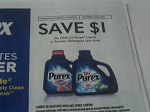 $1/1 Purex Liquid or Powder Detergent 11/1/2017