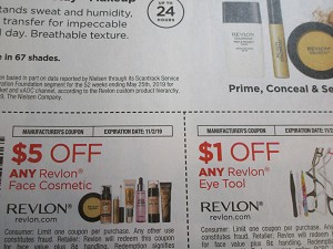 $5/1 Revlon Face Cosmetic + $1/1 Revlon Eye Tool 11/2/2019