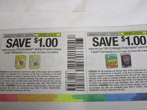 $1/2 Keebler, Mother's or Famous Amos Multipacks 12ct + $1/2 Kellogg's Fruity Snacks or Black Forest Fruit Snacks 9/30/2020