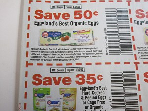$.50/1 Eggland's Best Organic Eggs + $.35/1 Egglands Best Hard Cooked & Peeled Eggs 11/30/2020
