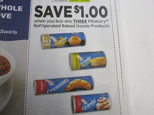 $1/3 Pillsbury Refrigerated Baked Goods 11/7/2020