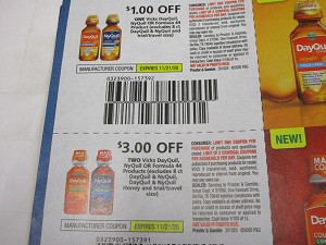 $1/1 Vicks Dayquil Nyquil or Formula 44 + $3/2  Vicks Dayquil Nyquil or Formula 44  11/21/2020
