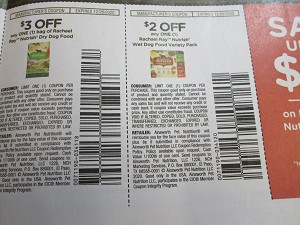 15 Coupons  $3/1 Nutrish Dry Cat Food 12/26/2020 + $3/1 Rachael Ray Nutrish Dry Dog Food + $2/1 Rachael Ray Nutrish Wet Dog Food Variety Pack 12/26/2020