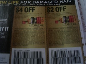 $4/2 Loreal Paris Elvive + $2/1 Elvive or Hair Expert Shampoo Conditioner Treatment 1/20/2018
